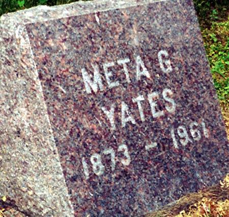 HORNBY YATES, META - Harrison County, Iowa   META HORNBY YATES