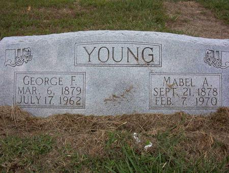 YOUNG, GEORGE F - Harrison County, Iowa | GEORGE F YOUNG