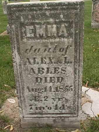 ABLES, EMMA - Henry County, Iowa | EMMA ABLES