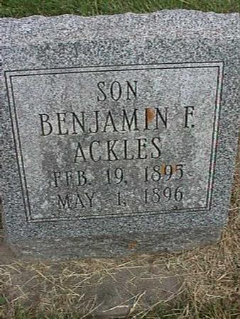 ACKLES, BENJAMIN - Henry County, Iowa | BENJAMIN ACKLES