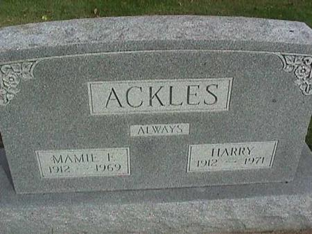 ACKLES, MAMIE - Henry County, Iowa | MAMIE ACKLES
