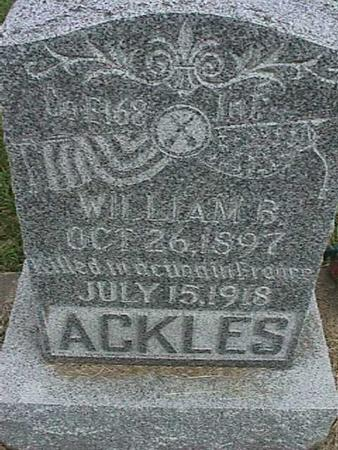 ACKLES, WILLIAM - Henry County, Iowa | WILLIAM ACKLES
