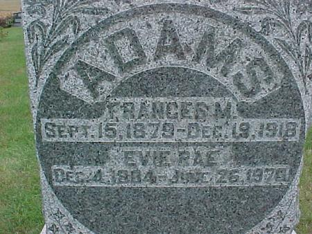 ADAMS, FRANCES - Henry County, Iowa | FRANCES ADAMS