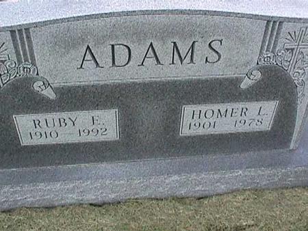 ADAMS, RUBY - Henry County, Iowa   RUBY ADAMS