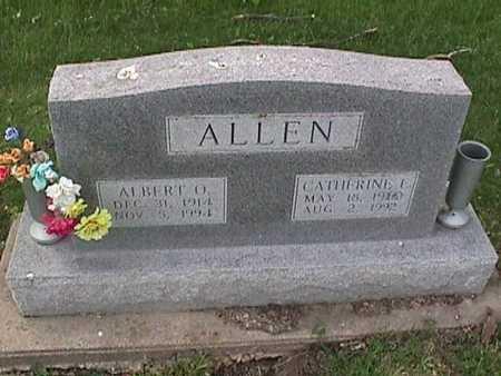 ALLEN, ALBERT O - Henry County, Iowa   ALBERT O ALLEN