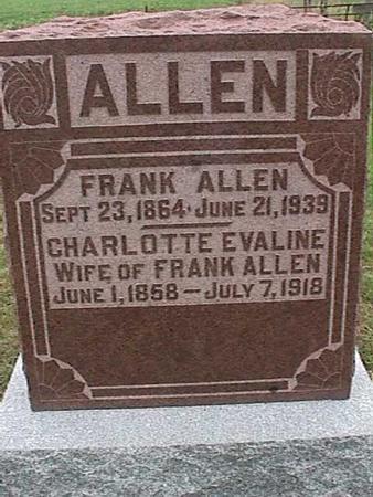 ALLEN, CHARLOTTE - Henry County, Iowa   CHARLOTTE ALLEN