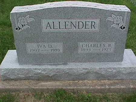 ALLENDER, CHARLES - Henry County, Iowa | CHARLES ALLENDER