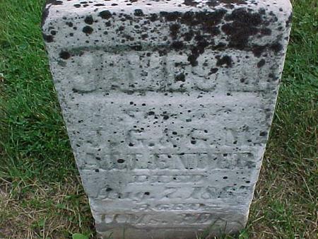 ALLENDER, JAMES - Henry County, Iowa   JAMES ALLENDER