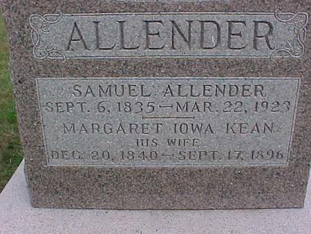 ALLENDER, MARGARET IOWA - Henry County, Iowa | MARGARET IOWA ALLENDER