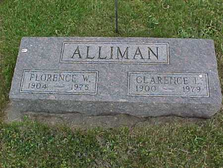 ALLIMAN, CLARENCE - Henry County, Iowa | CLARENCE ALLIMAN