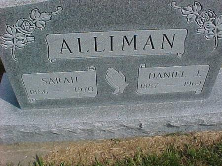 ALLIMAN, SARAH - Henry County, Iowa | SARAH ALLIMAN