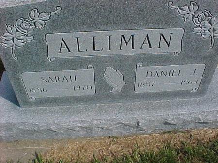 ALLIMAN, DANIEL - Henry County, Iowa | DANIEL ALLIMAN