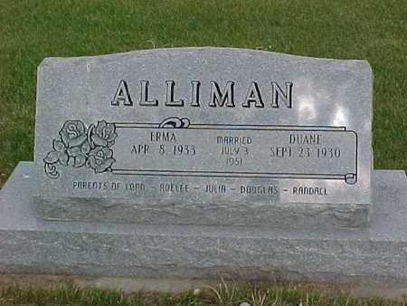 ALLIMAN, ERMA - Henry County, Iowa | ERMA ALLIMAN