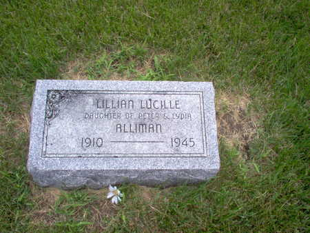 ALLIMAN, LILLIAN LUCILLE - Henry County, Iowa | LILLIAN LUCILLE ALLIMAN