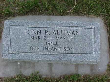 ALLIMAN, LONN R. - Henry County, Iowa | LONN R. ALLIMAN