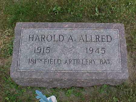 ALLRED, HAROLD - Henry County, Iowa | HAROLD ALLRED