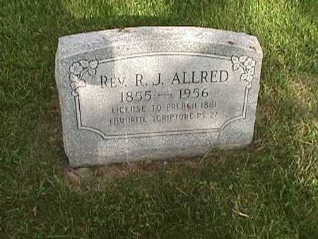 ALLRED, REV. R. J. - Henry County, Iowa   REV. R. J. ALLRED