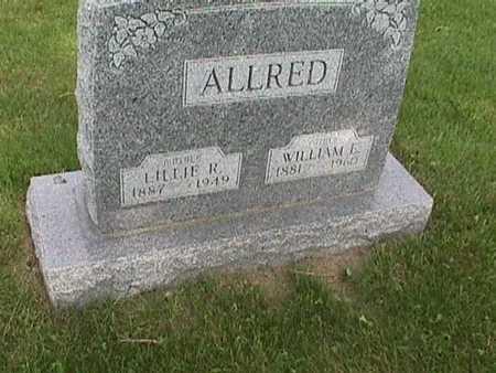 ALLRED, LILLIE - Henry County, Iowa | LILLIE ALLRED