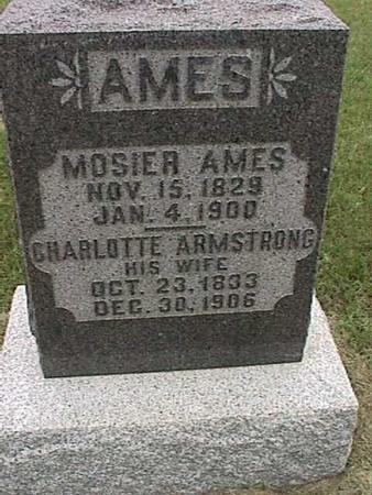 AMES, MOSIER - Henry County, Iowa | MOSIER AMES