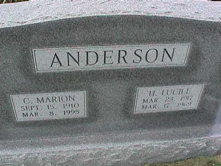 ANDERSON, H. LUCILE - Henry County, Iowa | H. LUCILE ANDERSON