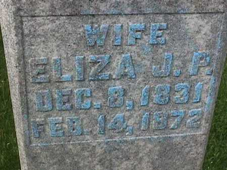 ANDERSON, ELIZA J P - Henry County, Iowa | ELIZA J P ANDERSON