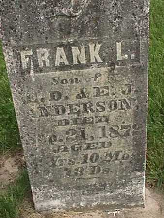 ANDERSON, FRANK L. - Henry County, Iowa | FRANK L. ANDERSON