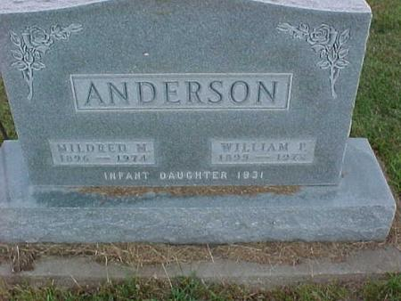 ANDERSON, MILDRED - Henry County, Iowa | MILDRED ANDERSON