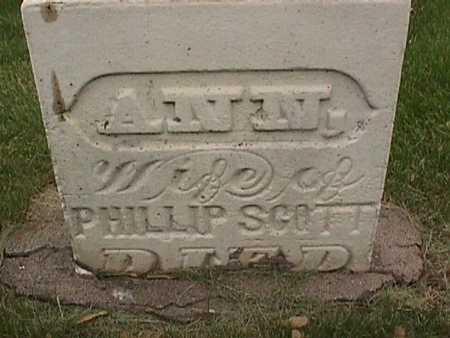 SCOTT, ANN - Henry County, Iowa   ANN SCOTT