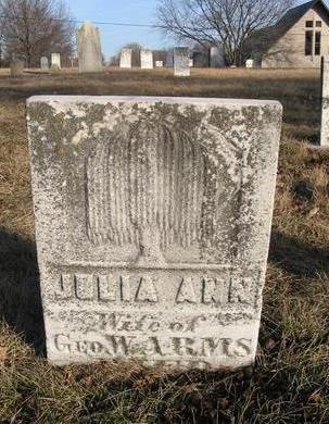 ARMS, JULIA ANN - Henry County, Iowa   JULIA ANN ARMS