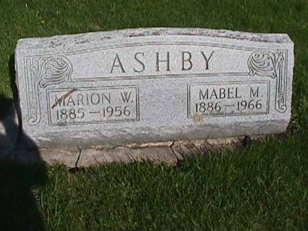 ASHBY, MARION W. - Henry County, Iowa | MARION W. ASHBY