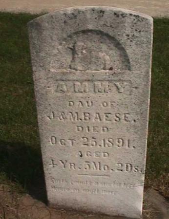 BAESE, AMMY - Henry County, Iowa   AMMY BAESE