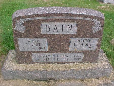 BAIN, ALVIN L. - Henry County, Iowa | ALVIN L. BAIN