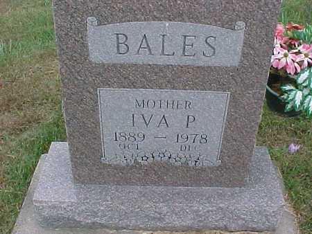 BALES, IVA - Henry County, Iowa | IVA BALES