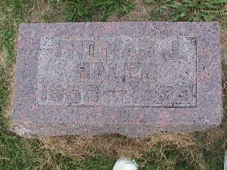 BALES, THOMAS J. - Henry County, Iowa   THOMAS J. BALES