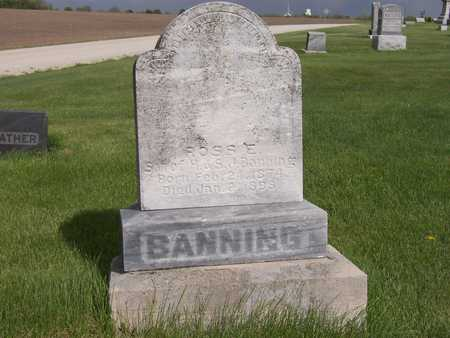 BANNING, ROSS E. - Henry County, Iowa | ROSS E. BANNING