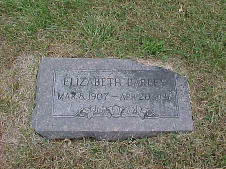 BARLEY, ELIZABETH - Henry County, Iowa | ELIZABETH BARLEY