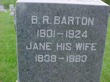 BARTON, B. R. - Henry County, Iowa | B. R. BARTON