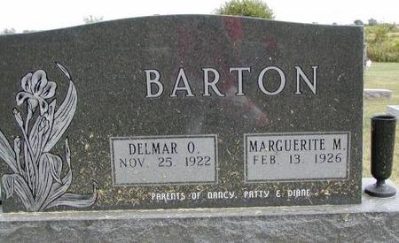 BARTON, DELMAR O. & MARGUERITE M. - Henry County, Iowa | DELMAR O. & MARGUERITE M. BARTON