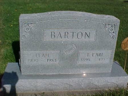 BARTON, LEAH - Henry County, Iowa | LEAH BARTON