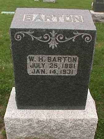 BARTON, W. H. - Henry County, Iowa   W. H. BARTON
