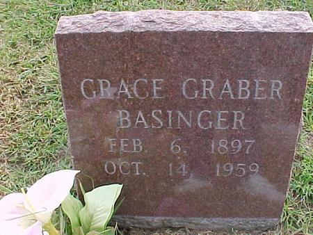BASINGER, GRACE - Henry County, Iowa   GRACE BASINGER