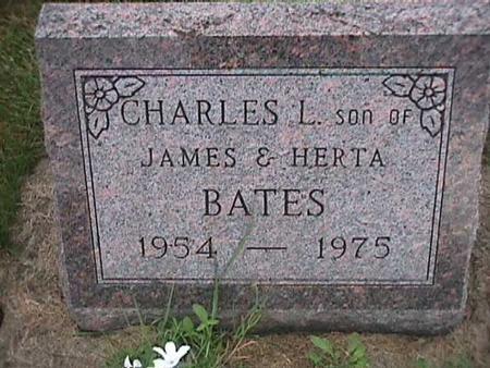BATES, CHARLES L. - Henry County, Iowa | CHARLES L. BATES