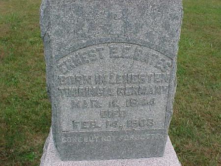 BATES, ERNEST - Henry County, Iowa | ERNEST BATES