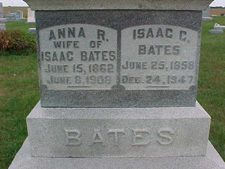 BATES, ANNA - Henry County, Iowa | ANNA BATES