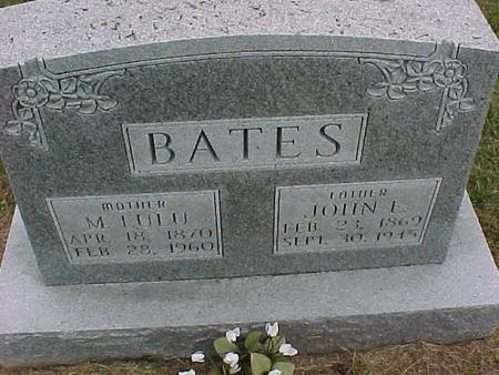 BATES, JOHN - Henry County, Iowa | JOHN BATES