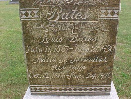 BATES, LOUIS - Henry County, Iowa | LOUIS BATES