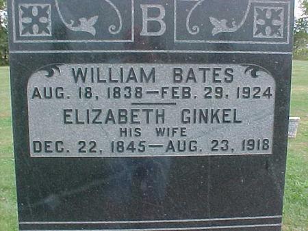BATES, ELIZABETH - Henry County, Iowa | ELIZABETH BATES