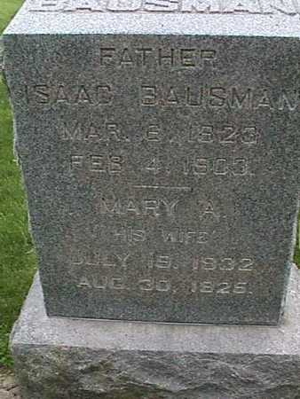 BAUSMAN, ISAAC - Henry County, Iowa | ISAAC BAUSMAN