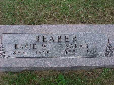 BEABER, SARAH - Henry County, Iowa | SARAH BEABER