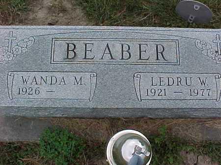BEABER, LEDRU W - Henry County, Iowa | LEDRU W BEABER